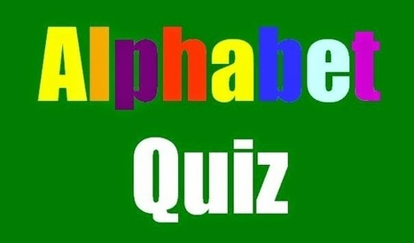 The EFL SMARTblog: Alphabet Quiz Game (ppt download) | EFL Interactive Games and Quizzes | Scoop.it