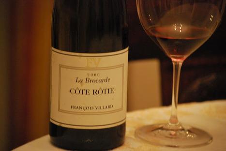 J'aime boire du vin: François Villard, Côte-Rôtie La Brocarde 2006 | oenologie en pays viennois | Scoop.it