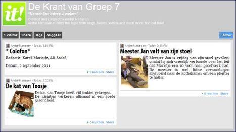 Een klassenkrant maken met Scoop.it! of Yurls | Kranten, nieuws en reclame: Mediawijsheid PO | Scoop.it