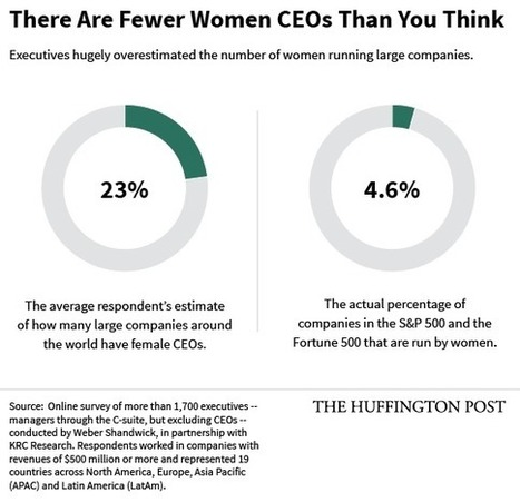 Do You Realize How Few Women CEOs Exist? These Executives Don't. - Huffington Post | WOB Women on Boards | Scoop.it