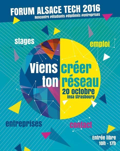 Forum Alsace Tech Entreprises - 20 Oct. 2016 | ECPM Strasbourg | Scoop.it