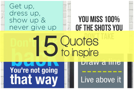 15 Inspirational Quotes For Small Businesses and Marketers | Click_Create_Network | Scoop.it