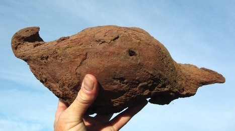 Volcanic Bomb - Earth Science picture of the day   Geology   Scoop.it