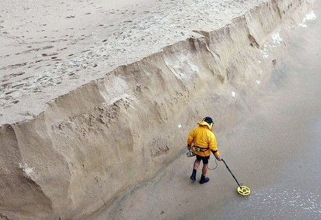 Storms create walls in the sand   Orange County Erosion Issues   Scoop.it