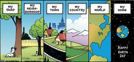 Scale taught in Comics | Geography Education | Scoop.it