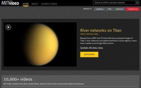 MIT Video, un directorio con más de 10000 vídeos educativos (inglés) | #TRIC para los de LETRAS | Scoop.it