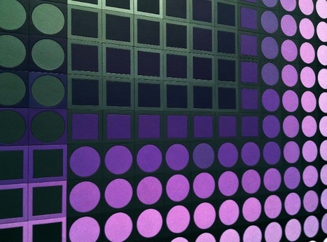 XIV éme congrès de la CEFA : visite de la Fondation Vasarely | Velvet Galerie ,Mobilier design XX eme , Architecture utopique 1970 , Pop culture | Scoop.it