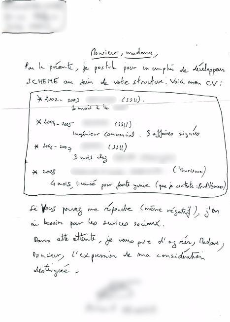 Embauchez moi ! | ParisBilt | Scoop.it