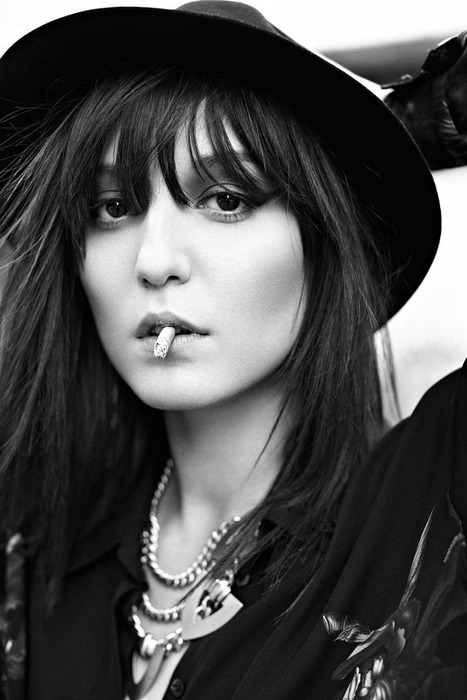 Irina Lazareanu Covers Dress to Kill's Fall 2012 Issue, Shot by Max Abadian | Imatge | Scoop.it