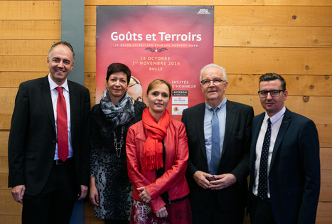 Salon Goûts et Terroirs : conférence de presse du 12 octobre à Bulle (Suisse) | L'info tourisme en Aveyron | Scoop.it