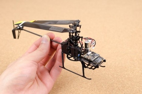 World's Smallest Drone Autopilot System Goes Open Source | Wired Enterprise | Wired.com | Peer2Politics | Scoop.it