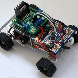 Simple RC car for beginners (Android control over Bluetooth) | Heron | Scoop.it