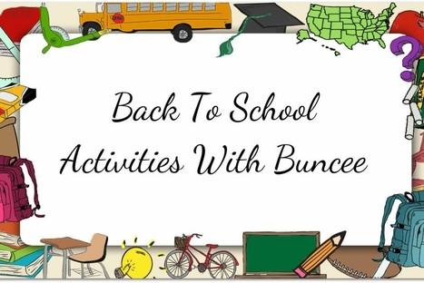 Back To School Activities With Buncee | Informática Educativa y TIC | Scoop.it