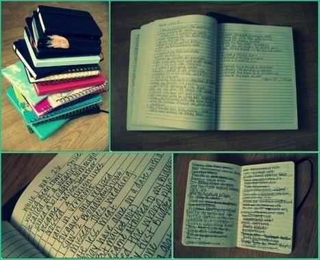 Celebrate Journaling » Then Heather Said   Journaling Helps!   Scoop.it