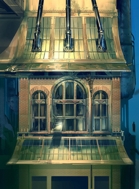 BioShock Infinite's Gorgeous Concept Art by Ben Lo | PlayStation 3 MAGAZINE | Scoop.it