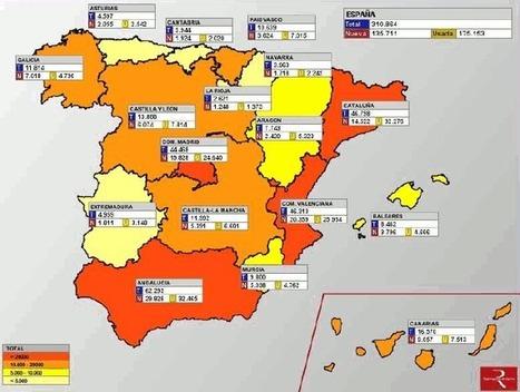 Murcia, Galicia y Canarias, las únicas CCAA donde se venden más viviendas nuevas que usadas | PROYECTO ESPACIOS | Scoop.it