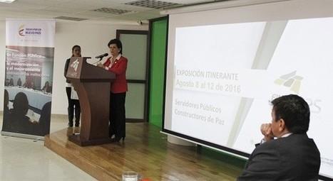 Con la pedagogía de paz hemos llegado a más de 45 mil ciudadanos en todo el país: Liliana Caballero - Visor de Noticias - Función Pública   Opinión   Scoop.it