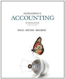 Test Bank For » Test Bank for Horngrens Accounting The Financial Chapters, 10th Edition : Nobles Download | Accounting Online Test Bank | Scoop.it