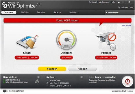Ashampoo WinOptimizer 10 v10.2.5 | Latest Softwares,Full Games for PC free Download and Blogger Tips | Latest Softwares,Full Games for PC free Download and Blogger Tips | Scoop.it