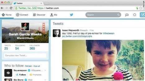 Twitter rolling out new Web design | Visual Content Strategy | Scoop.it