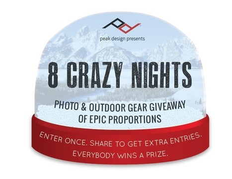 8 Crazy Nights with Peak Design = HUGE GIVEAWAY | HDSLR | Scoop.it