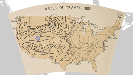 Spend Your Weekend Gawking at Nearly 700 Old Maps of the U.S. | History and Social Studies Education | Scoop.it