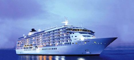 The World, the Largest Privately Owned Residential Ship | Language travel at its best | Scoop.it