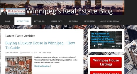 Top 5 Winnipeg Real Estate Blog Posts for 2015 | Latest Posts from Winnipeg's Real Estate Blog | Scoop.it