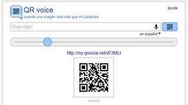 QR voice: convierte el texto a audio en un código QR ~ Tube trucos   VIM   Scoop.it