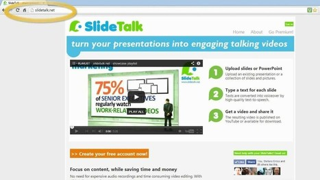 Sharing micro-lectures as talking videos, the rapid way | The SlideTalk blog | learning design | Scoop.it