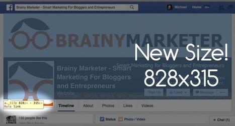 New Facebook Cover Photo Dimensions - Now828x315   Blogging, Social Media, Marketing, Entrepreneurs   Scoop.it