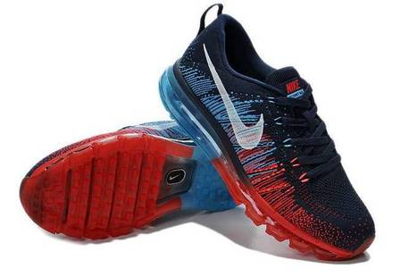 Cheap Nike Flyknit Air Max Men Black Vivid Blue Red Shoes Big Sale - $99.00 | I found the Bags Home | Scoop.it