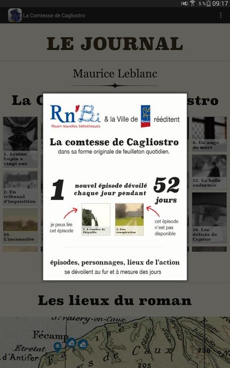 La Comtesse de Cagliostro, un exemple de mise en valeur du domaine public par des bibliothèques | Trucs de bibliothécaires | Scoop.it