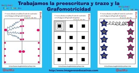 MEJORA DE ATENCIÓN: Trabajamos la preescritura y trazo y la grafomotricidad - Imagenes Educativas | TAC i educació | Scoop.it