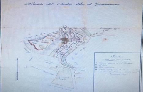 Grottammare, ritrovata antica mappa del Vecchio Incasato | mappe storiche | Scoop.it