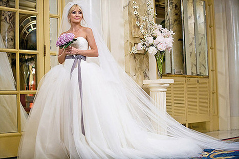 Wedding Dresses from Movies - Catching Fire Wedding Dress ... | Dresses | Scoop.it