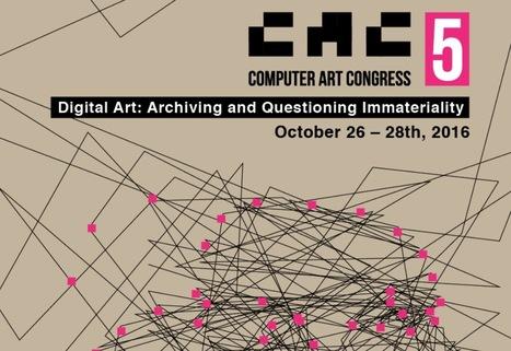 26>28.10.16 - Computer Art Congress [CAC.5] -Keynote speakers: Bernard Stiegler and Lev Manovich // #mediaart   Digital #MediaArt(s) Numérique(s)   Scoop.it