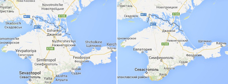 What Crimea teaches us about the perils of personalized maps | Southmoore AP Human Geography | Scoop.it