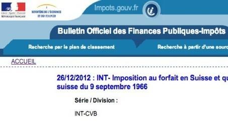La France brise une convention fiscale, la Suisse déclare ne pas être informée   Les expatriés vaches à lait   Scoop.it