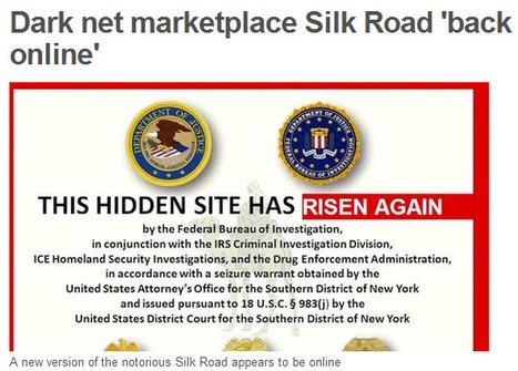 Marketplace Silk Road 'back online' | Media & Academia (latest) | Scoop.it
