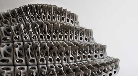 Company develops new fiber-reinforced wood, concrete ink for 3D printing | 3d Print | Scoop.it