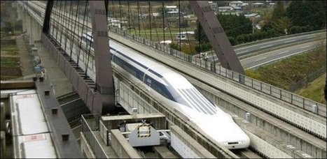 20 minutes - Ce train va presque aussi vite qu'un avion - Insolite | SAUVER LA FRANCE | Scoop.it