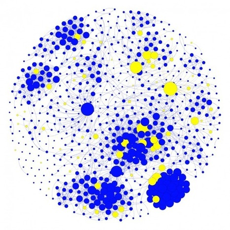 Network Analysis of Science Crowdfunding | Wired Science | Wired.com | A New Society, a new education! | Scoop.it