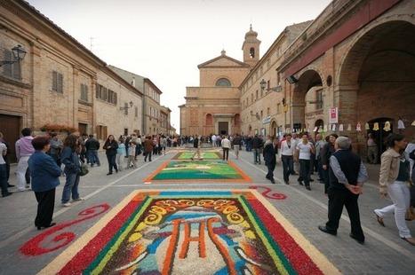 Infiorate e infiorate artistiche delle Marche | Le Marche un'altra Italia | Scoop.it
