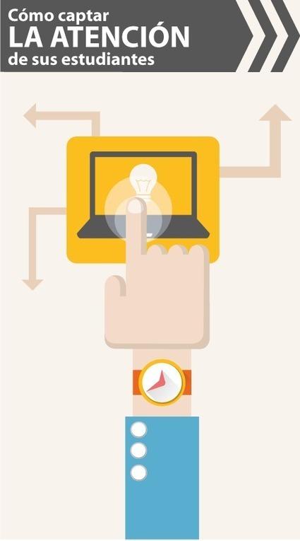 Las 4 reglas para captar la atención del alumno en su curso eLearning | E-Learning | Scoop.it