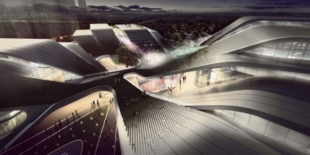 Beijiao, China:  Sports Center / Decode Urbanism Office   The Architecture of the City   Scoop.it