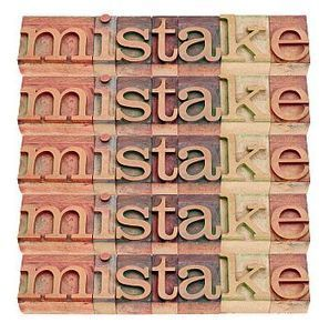 5 Mistakes New Authors Often Make | The Writing Game | Scoop.it