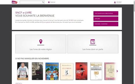 La SNCF lance une offre d'eBook - Le Journal du Geek | BiblioLivre | Scoop.it