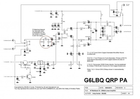 Amplificateur linéaire G6LBQ pour le Bitx multibande   Ham Radio France   Scoop.it