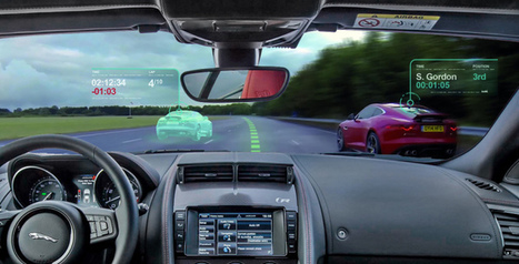 Jaguar créé le pare-brise «jeu vidéo» via la réalité augmentée | Les dernières innovations digitales | Scoop.it